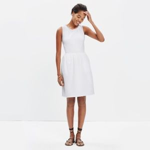 Madewell Fringed Afternoon Dress White